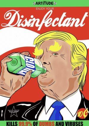 Enjoy your Disinfactant